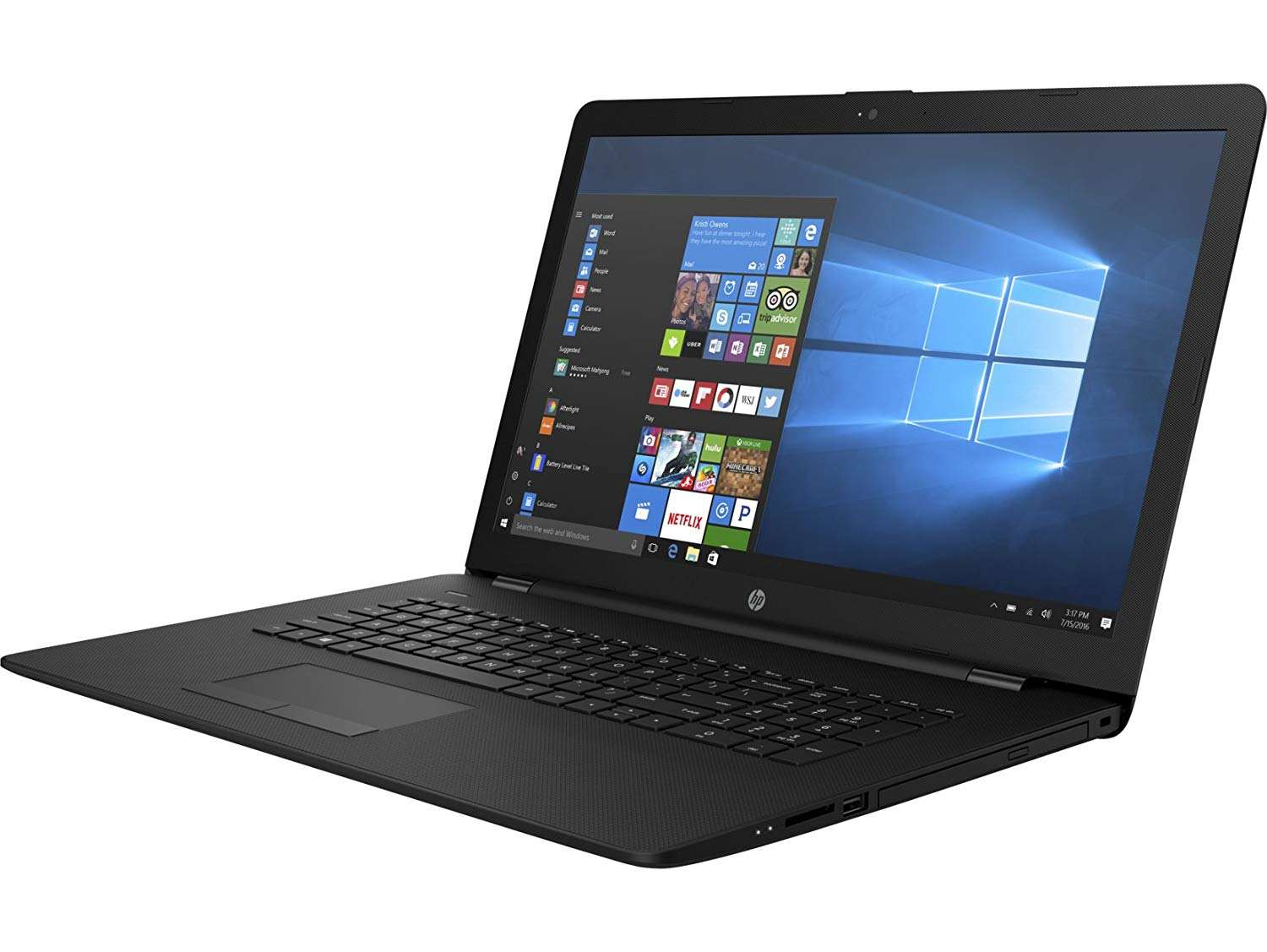 best laptops for trading - 2018 HP 17.3-inch 17z