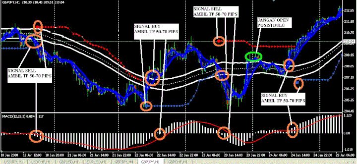 SENJATA  GBP JPY Trading System For MT4